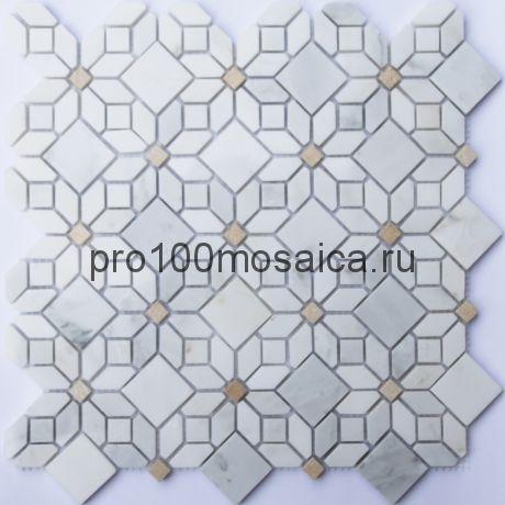 Camomile Мозаика серия STONE,  размер, мм: 305*305*10 (ORRO Mosaic)