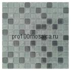 Gray Crush. Мозаика серия GLASS,  размер, мм: 300*300*8 (ORRO Mosaic)