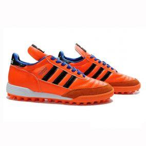 Шиповки для футбола adidas Mundial Team оранжевые