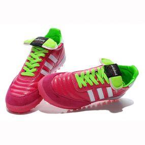 Шиповки для футбола adidas Mundial Team розовые