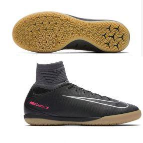 Детские футзалки Nike MercurialX Proximo II IC чёрные