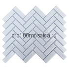 White Seam. Мозаика серия RUSTIC, размер, мм: 318*274*4 (ORRO Mosaic)