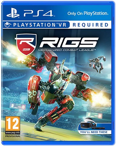 Игра Rigs: Mechanized Combat League (только для VR) (PS4, русская версия)