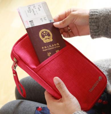 Органайзер-холдер для документов для путешествий