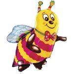 Шар Пчелка (Пчела) фольгированный с гелием