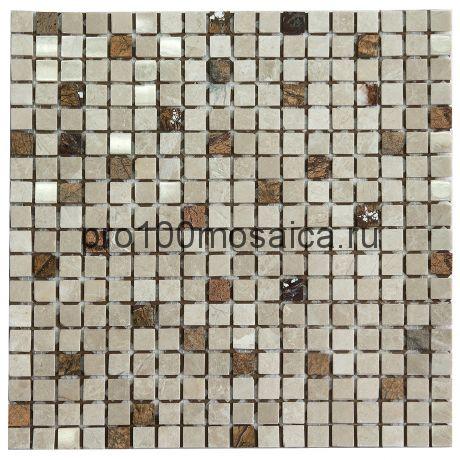 K-731 камень 15x15. Мозаика серия STONE, размер, мм: 305*305*4 (NS Mosaic)