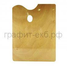 Палитра для красок 30х40 прямоугольная деревянная Малевичъ 195033