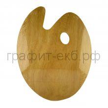 Палитра для красок 30х40 овальная деревянная Малевичъ 195025