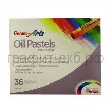 Пастель масл.36цв.Pentel Arts PHN4-36
