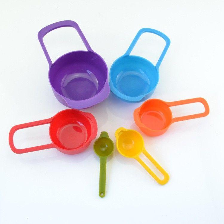 Набор из 6 мерных ложек Measuring Cup