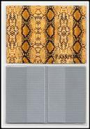 ООбложка для паспорта кожзам АСПИД вариант 1