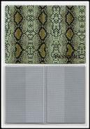 ООбложка для паспорта кожзам АСПИД вариант 2