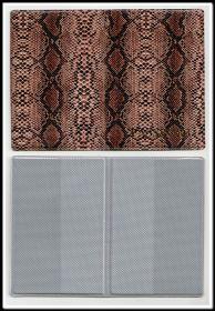 ООбложка для паспорта кожзам АСПИД вариант 6