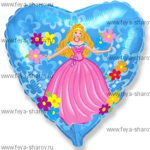 Шар Принцесса 46 см