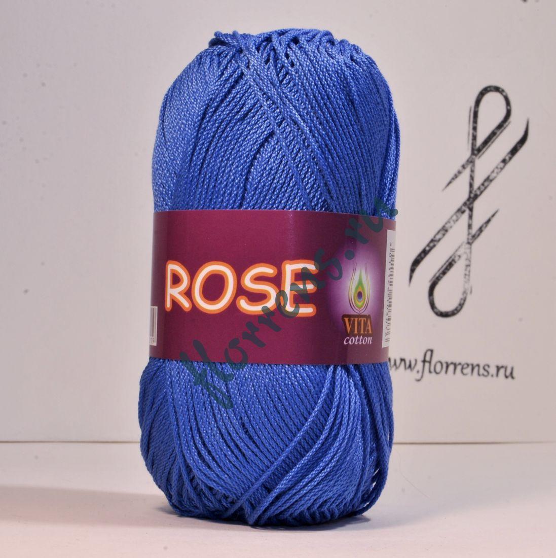 Пряжа Rose / 3931 джинсовый