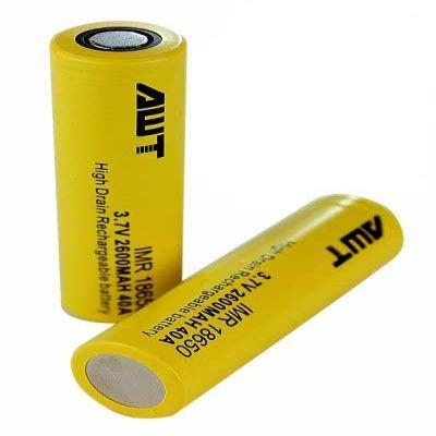 Аккумулятор AWT 18650 (40А, 2600mA)