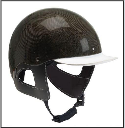 """Шлем для наездника """"W-Trotting"""" Карбон. Регулировка размера!"""