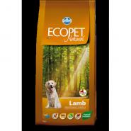Ecopet Natural Lamb Maxi Корм для взрослых собак крупных пород с ягненком (12 кг)