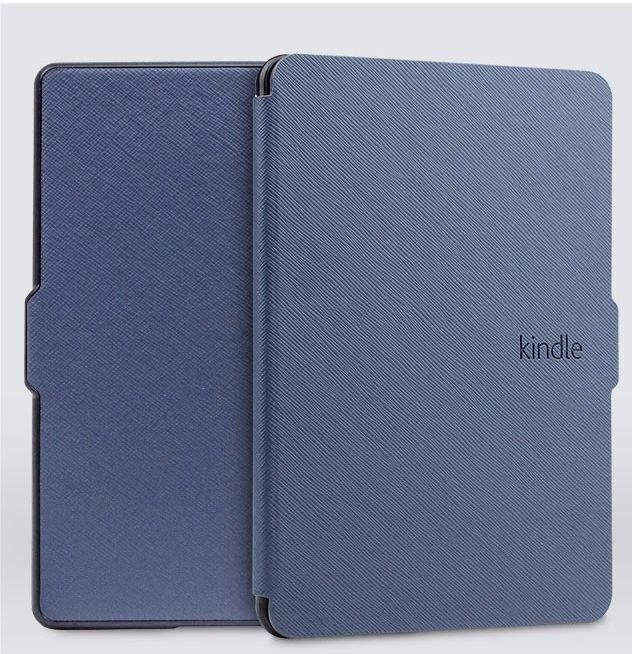 Чехол-обложка Texture для Amazon Kindle 8 (Синяя)