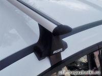 Багажник на крышу Ford Focus 3, Атлант, крыловидные дуги, опора Е