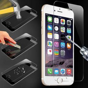 Закаленное противоударное стекло для iPhone 6