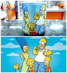 Кружка Симпсоны