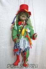 Чешская кукла-марионетка Водяной -  Vodník (Чехия, Praha, Hand Made, авторы  Ивета и Павел Новотные)