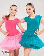 Розовый костюм для латины в магазине одежды для бальных танцев