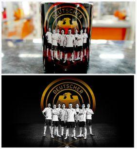 Кружка с эмблемой сборная Германии