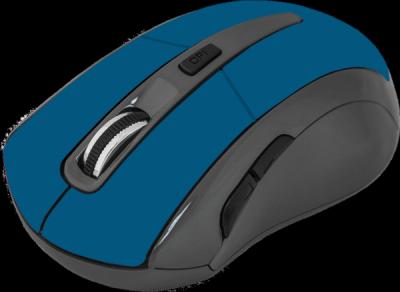 Беспроводная оптическая мышь Accura MM-965 голубой,6кнопок,800-1600dpi