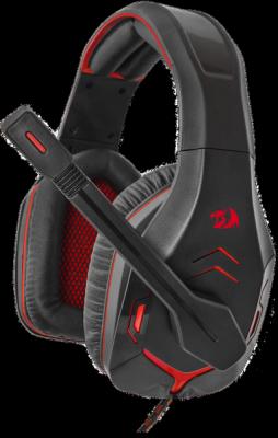 Игровая гарнитура Excidium красный + черный, кабель 2,2 м