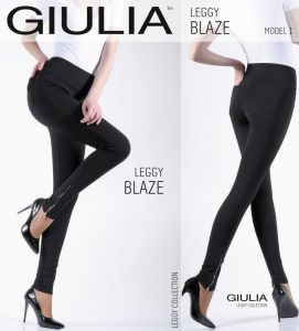 Красивые брюки-леггинсы из качественного вискозного трикотажа