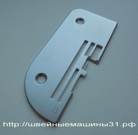 Игольная пластина (B) для рулика, оверлок TOYOTA SL 3314 и др.    Цена 1500 руб.