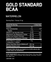 Optimum Nutrition Gold Standard BCAA 28 порций состав