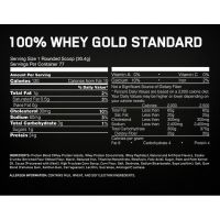 Optimum Nutrition 100% Whey protein Gold standard 5 lb состав