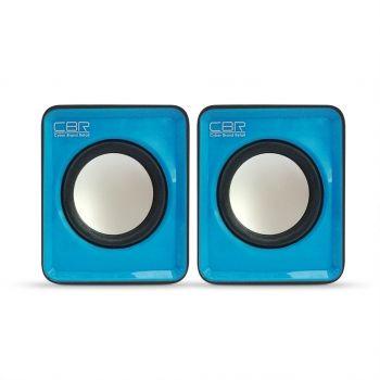 Мультимедийные колонки 2.0 CBR CMS 90 Blue
