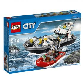 Lego City 60129 Полицейский патрульный катер #