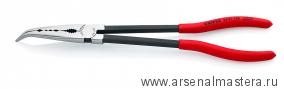 Плоскогубцы монтажные с поперечным профилем (изогнутая головка) KNIPEX 28 81 280  KN-2881280