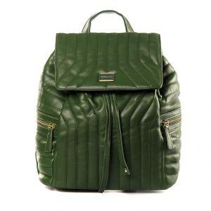 Рюкзак женский 0111016697_62; экокожа; зеленый