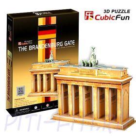 CubicFun. 3D пазлы. Мосты и ворота. Браденбургские ворота