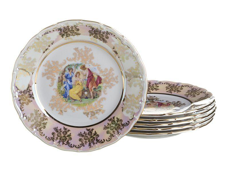 """Набор тарелок """"Мадонна"""", 25 см, 6 шт."""