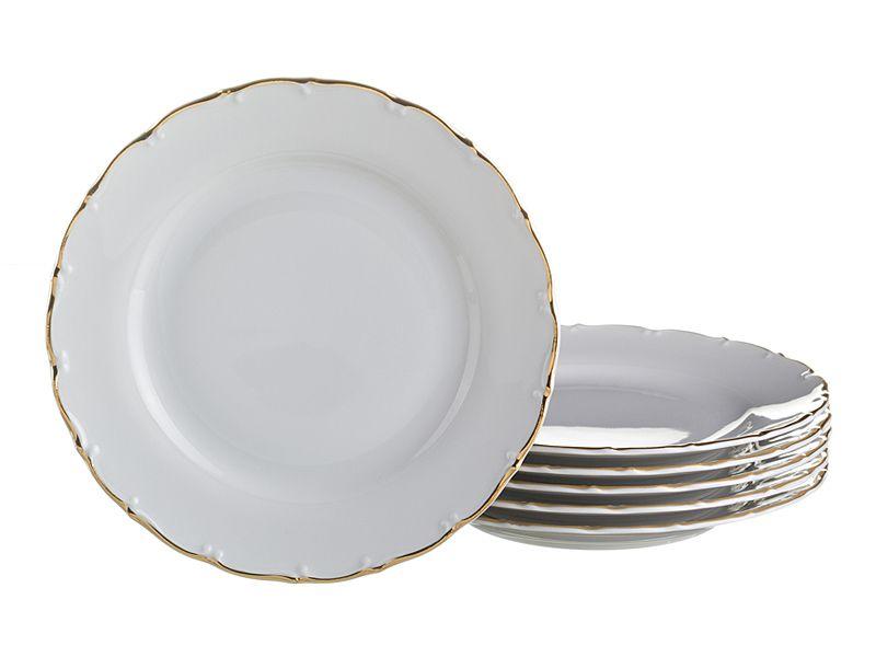 """Набор тарелок """"Офелия 662"""", 19 см, 6 шт."""