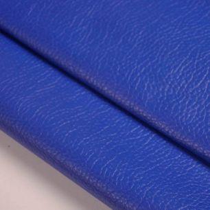 Кожзам для кукольных ботиночек - синий, 25*20 см