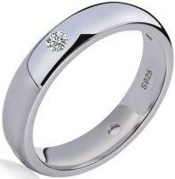 Кольцо с платиновым покрытием