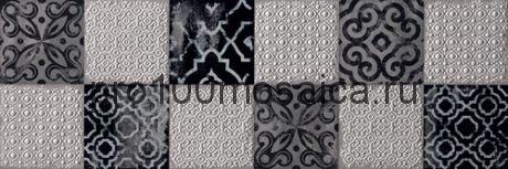 Декор Creta Inserto Maiolica Grey 30.5x91.5 (FAP)