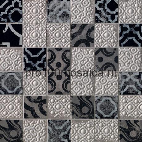 Мозаика Creta Mosaico Maiolica Grey 30.5x30.5 (FAP)