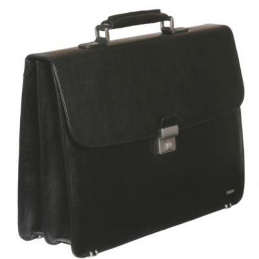 Кожаный портфель Diplomat SK-208(B) (черный)