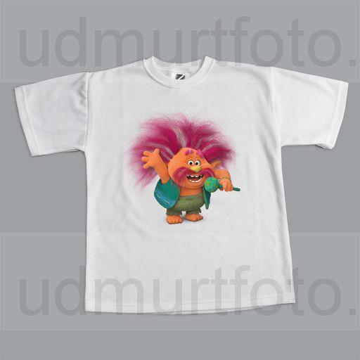 футболка детская тролль Peppy