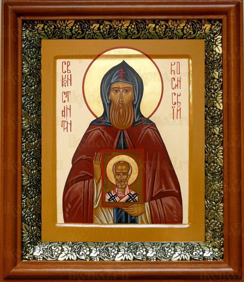 Константин Косинский (19х22), светлый киот
