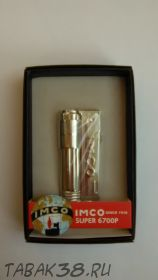 "Зажигалка IMCO SUPER/TRIPLEX Oil chrome надпись ""IMCO"" (Австрия)"